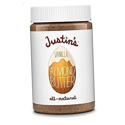 Justins Almond Butter Vanilla -- 16 oz - 2 pc