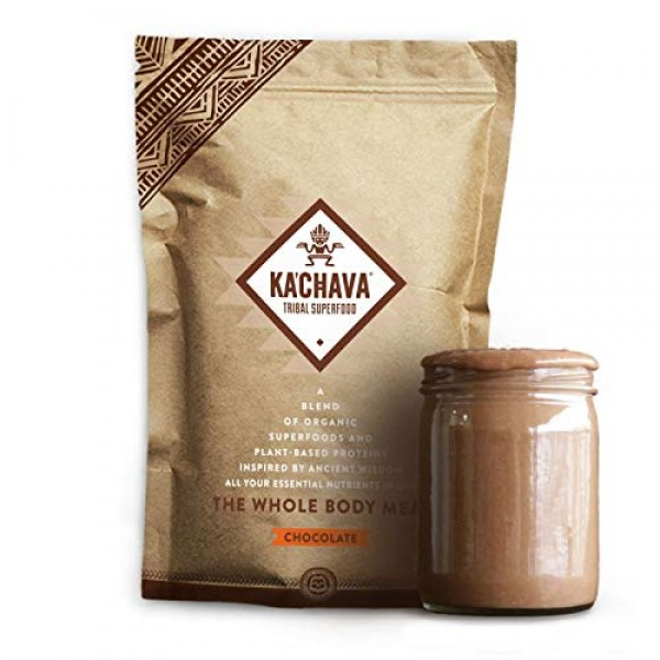 Ka'Chava Meal Replacement Shake - A Blend of Organic Superfoods ...
