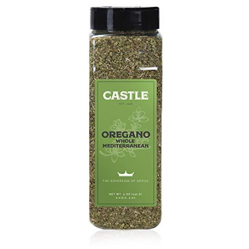 Castle Foods | Oregano Whole Mediterranean Container, 5 oz Premi...