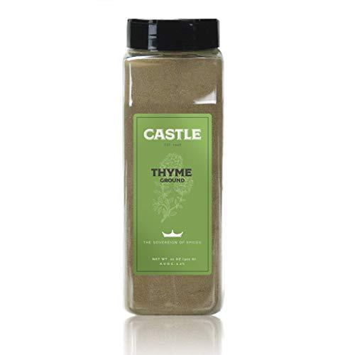 Castle Foods | THYME GROUND, 11 oz Premium Restaurant Quality