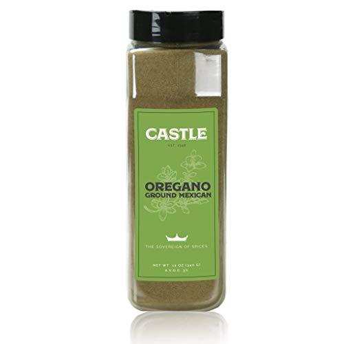 Castle Foods   OREGANO GROUND MEXICAN Container, 12 oz Premium R...