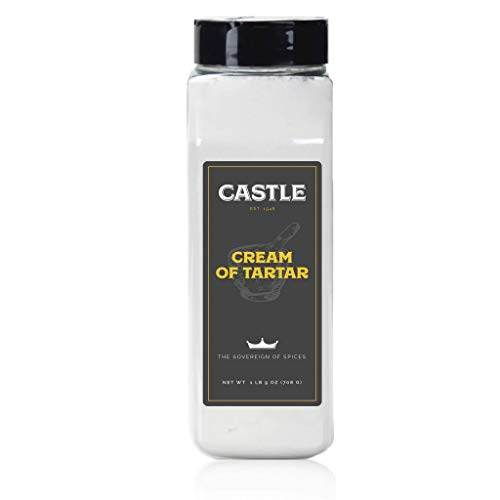 Castle Foods | CREAM OF TARTAR, 25 oz Premium Restaurant Quality