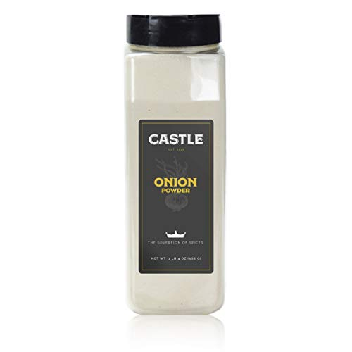 Castle Foods | ONION POWDER, 20 oz Premium Restaurant Quality
