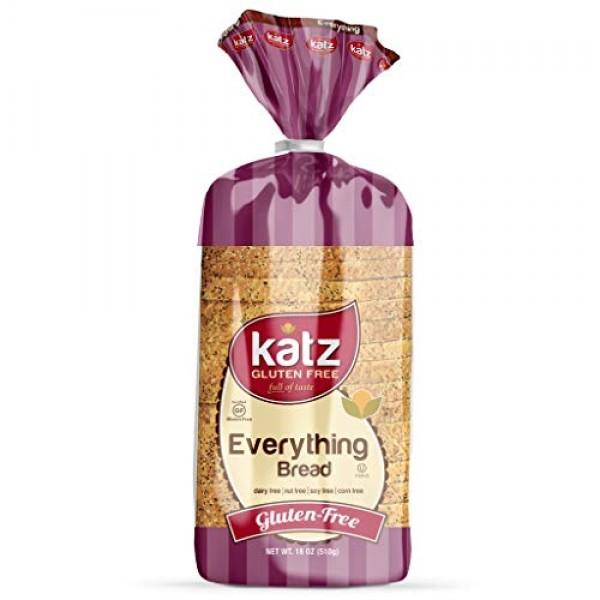 Katz Gluten Free Everything Bread | Dairy, Nut, Soy and Gluten F...