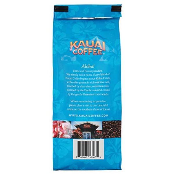 Kauai Hawaiian Ground Coffee, Koloa Estate Dark Roast 10 oz Bag...