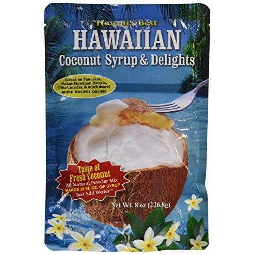 Kauai Tropical Syrup, Inc Hawaiian Coconut Syrup and Delights, 8...