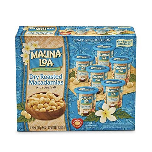 KC Commerce Gift set Mauna loa Dry Roasted Macadamia nut With Se...