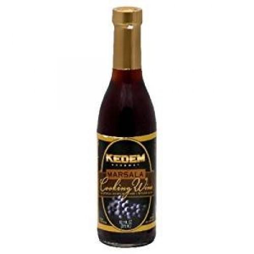 Kedem Cooking Wine Marsala No Sugar, 12.7-Ounce Glass Bottle P...