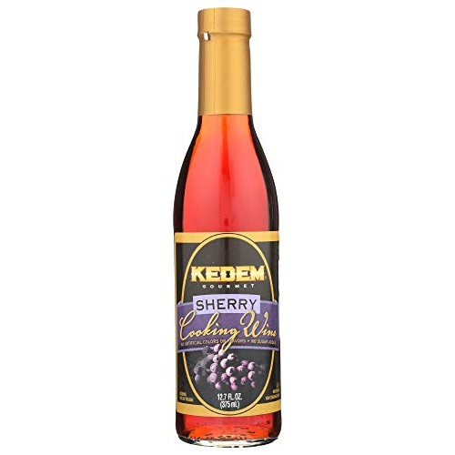 Kedem Gourmet Sherry Cooking Wine 12.7oz Bottle, No Artificial C...