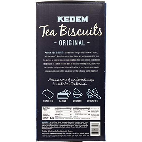 Kedem Tea Biscuits (Plain, 12 Pack)