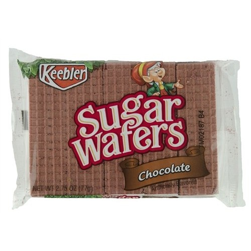 Keebler Sugar Wafers Chocolate 2.75-Ounce Packages (Pack of 12)