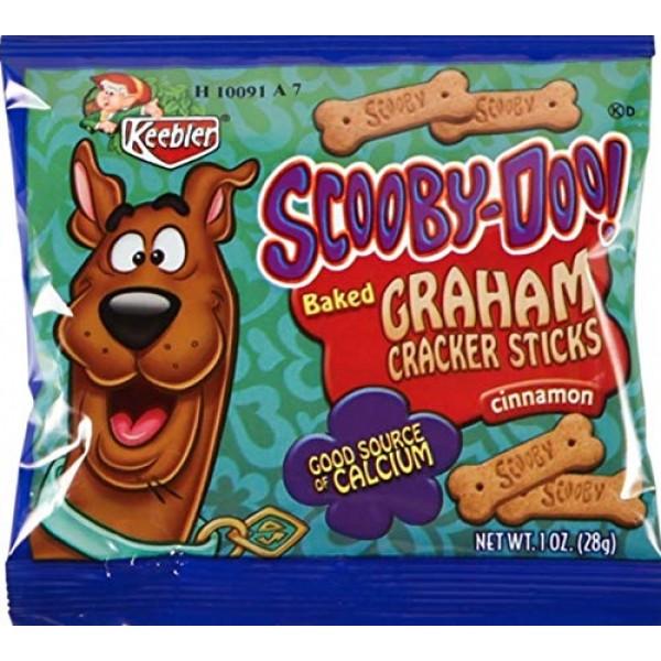 Keebler - Scooby-Doo Scooby Snack Graham Cracker Cookies, 1 Ounc...
