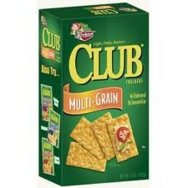Keebler Club Crackers Multi-Grain 12.7 Ounces 2 Pack