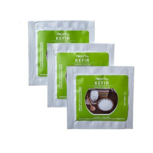 Kefir Starter Culture for home made preparation, Natural, Digest...