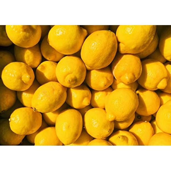 Kejora Fresh Lemons - 5 lbs box about 16 pcs - From California