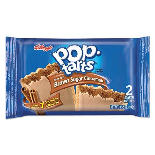 Kelloggs 31131 Pop Tarts, Frosted Brown Sugar Cinnamon, 3.52oz,...