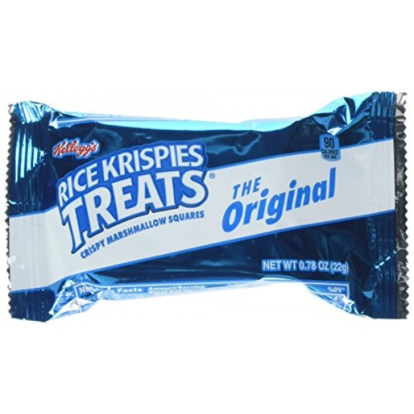 Kelloggs Original Rice Krispies Treats - Original - 60 / Carton