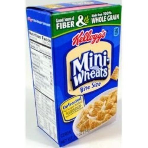 Kelloggs Bite Size Mini-Wheats Unfrosted Box 70 Pieces [Misc.]