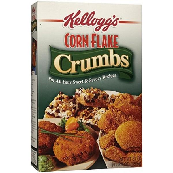 Kelloggs Corn Flake Crumbs, 21 oz Boxes