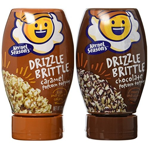 Kernel Seasons Drizzle Brittle, Variety Pack, 2 Count