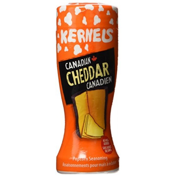 Kernels Canadian Cheddar Popcorn Seasoning 100g {Imported from C...