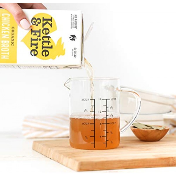 Chicken Broth by Kettle and Fire, Cooking Broth and Stock, Organ...