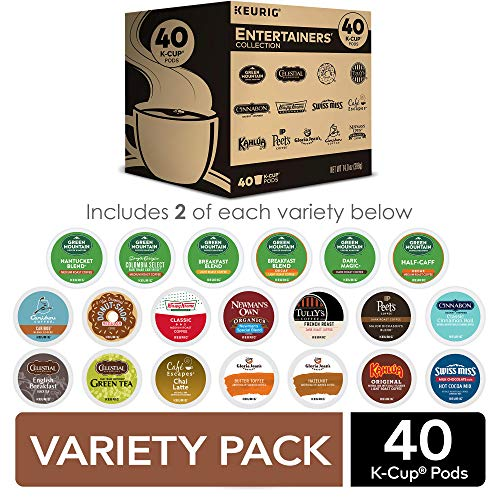 Keurig Entertainers Variety Pack Single-Serve Coffee K-Cup Pods ...