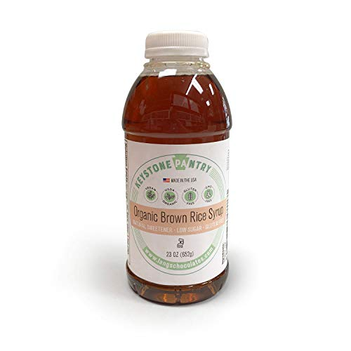Keystone Pantry Organic Brown Rice Syrup 23 oz Bottle Certified ...