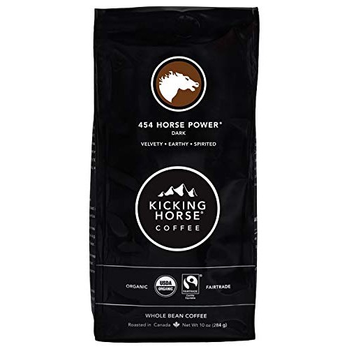 Kicking Horse Coffee, 454 Horse Power, Dark Roast, Whole Bean, 1...