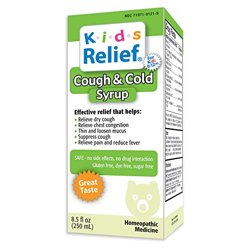 Kids Relief Cough and Cold Syrup, 8.5 Fluid Ounce