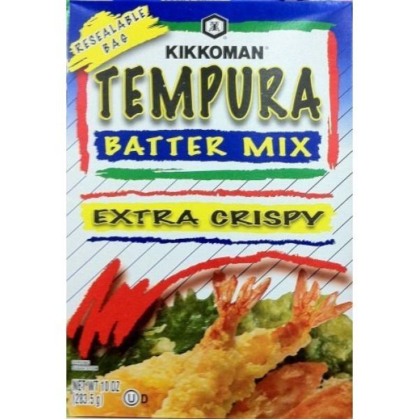 Kikkoman, Extra Crispy Tempura Batter Mix, 10oz Box Pack of 4 ...