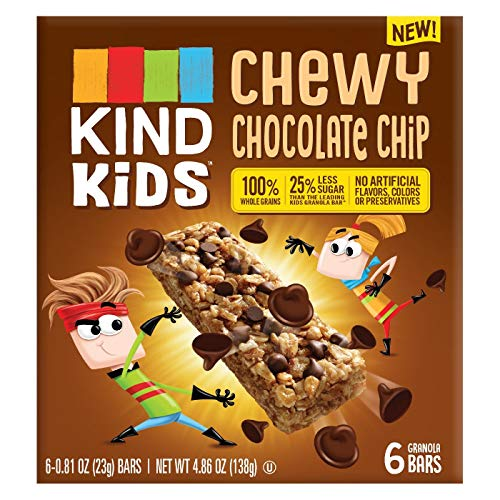 KIND Kids Chewy Chocolate Chip Granola Bars 4.86oz, pack of 1