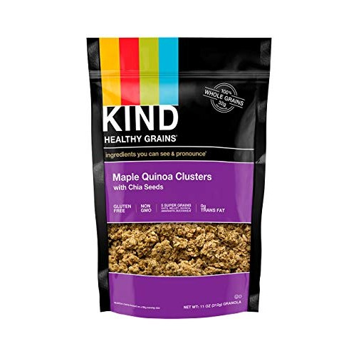 KIND Healthy Grains Clusters, Maple Quinoa with Chia Seeds Grano...