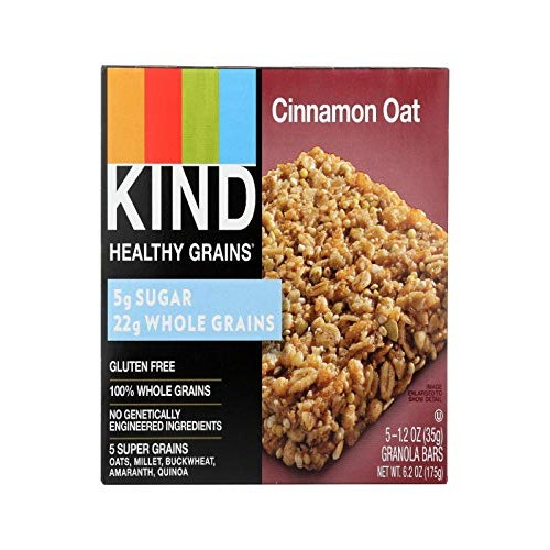 BAR, CINNAMON OAT , Pack of 8
