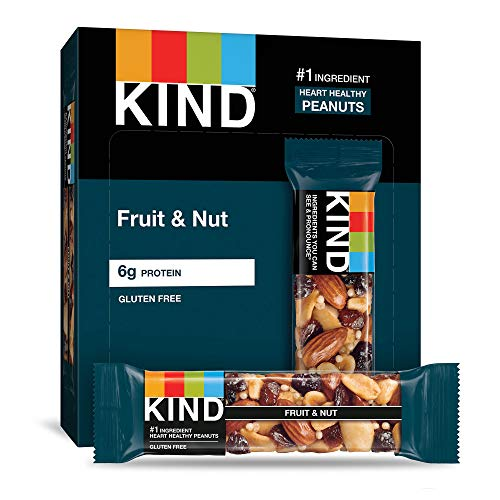 KIND Bars, Fruit & Nut, Gluten Free, Low Sugar, 1.4 Ounce Bars, ...