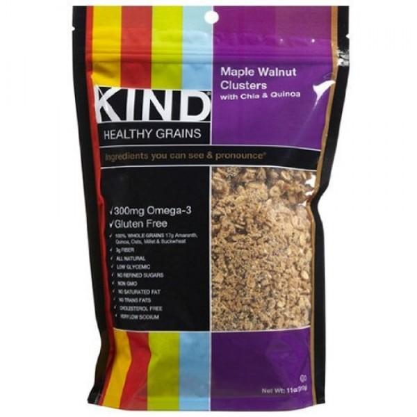 Kind Maple Quinoa Cluster w/Chia 3x11oz