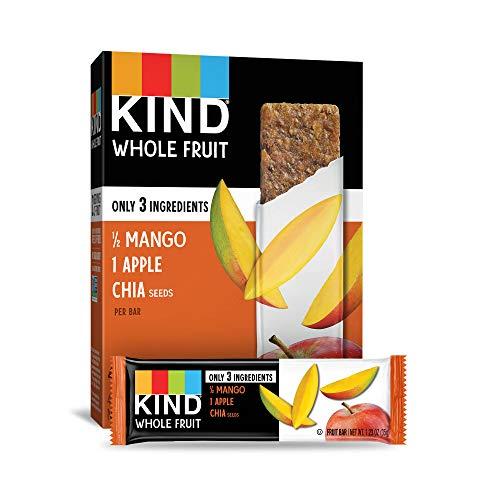 Pressed by KIND Fruit Bars, Mango Apple Chia, No Sugar Added, Gl...