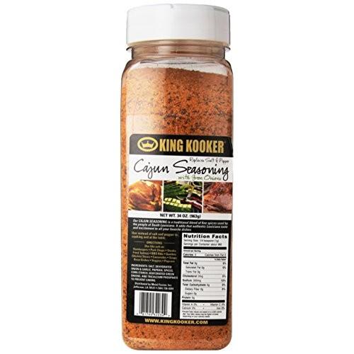 King Kooker XLG039 34-Ounce Cajun Seasoning