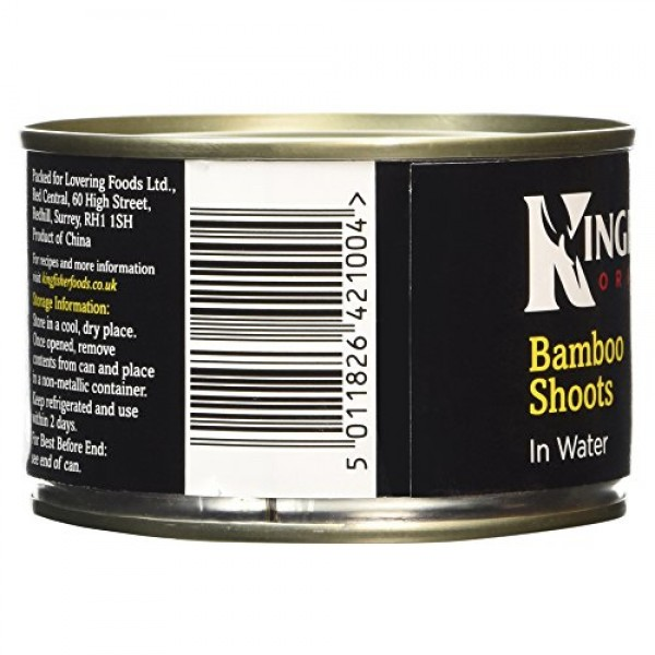 Kingfisher Bamboo Shoots in Water 225g