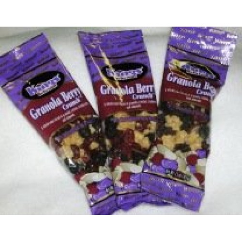 Kings Delicious Granola Berry Crunch Snack Mix 1.5 Ounce Indivi...