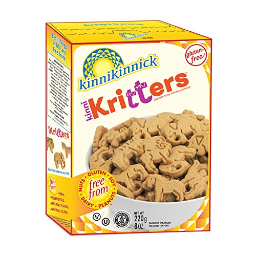 Kinnikinnick Gluten Free Animal Graham Cookies, 8 Ounce Pack of 6