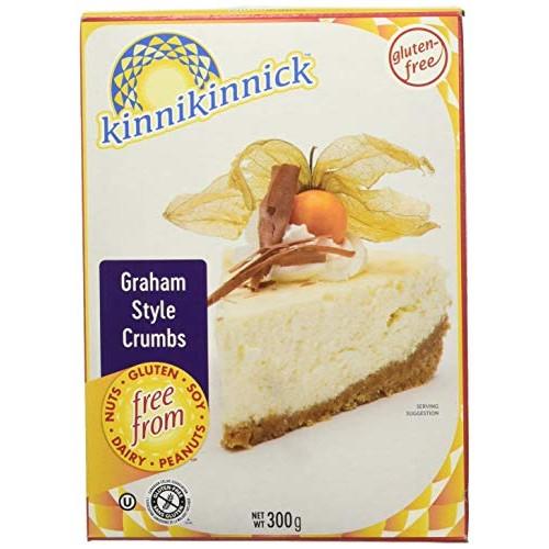 Kinnikinnick Gluten Free Graham Style Crumbs, 10.5 oz