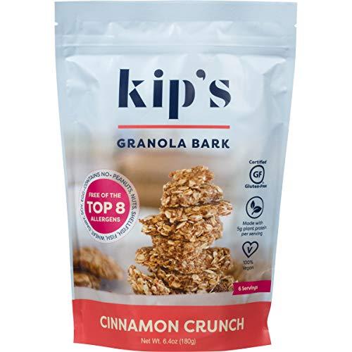 Kips Cinnamon Crunch Granola Bark, Free of Top 8 Allergens, Pea...