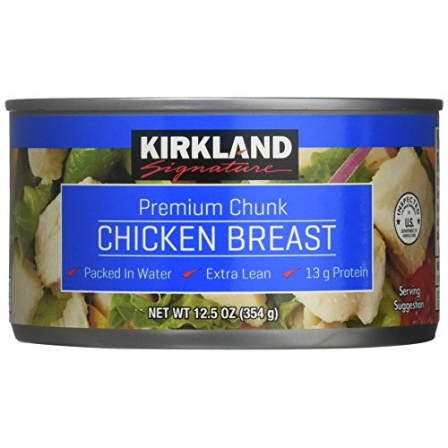 Kirkland Recipes Recettes Premium Chunk Chicken Breast in Water ...