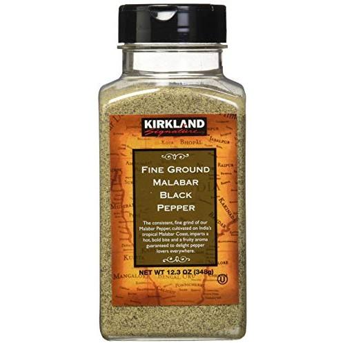 Kirkland Fine Ground Black Pepper, 348 Gram
