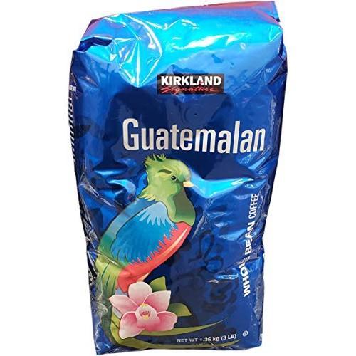 Kirkland Signature Guatemalan Whole Bean Medium Roast Coffee, 3 ...