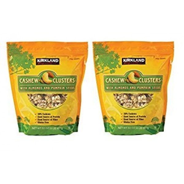 Kirkland Signature Cashew Clusters with Almonds and Pumpkin Seed...