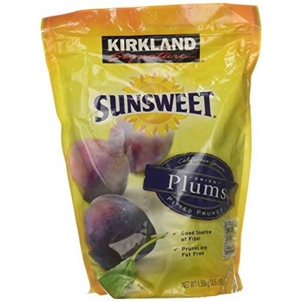 Kirkland Signature Sunsweet Dried Plums 7 lb