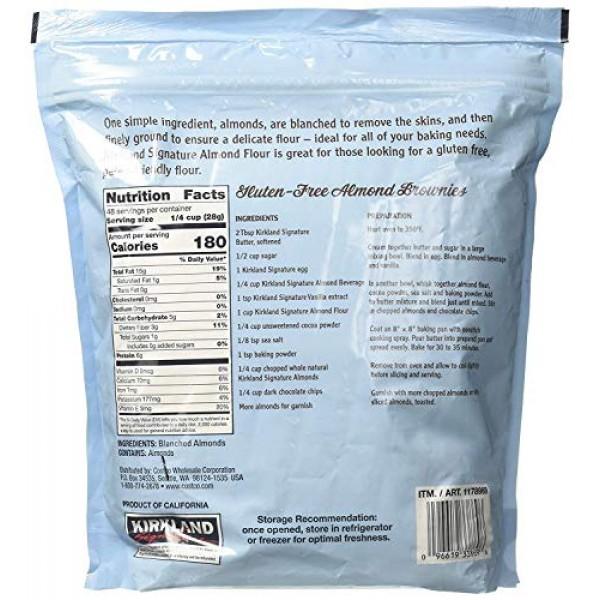 Kirkland Signature Almond Flour Blanched California Superfine, 3...