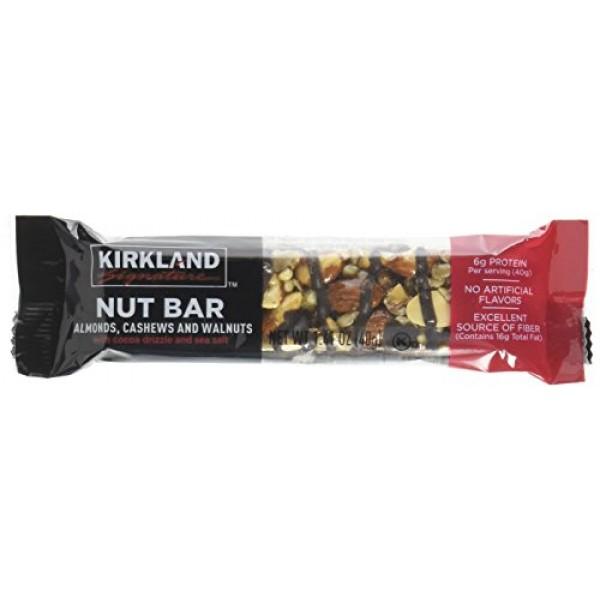 Kirkland Signature Nut Bars 30/1.4 Oz Net Wt 42.3 Oz